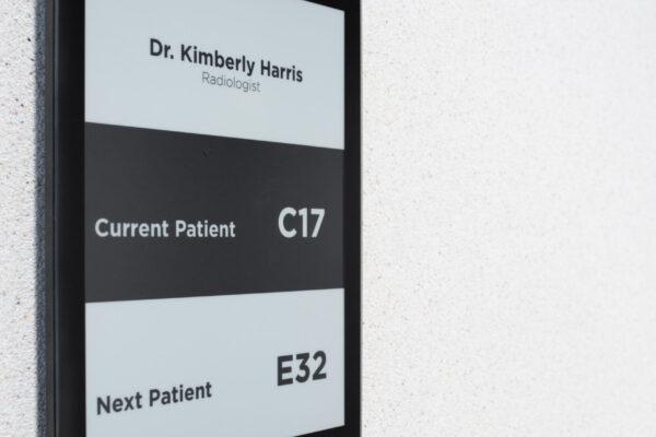 Hospital ePaper Digital Signage