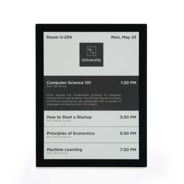 13.3-inch PoE ePaper Signage